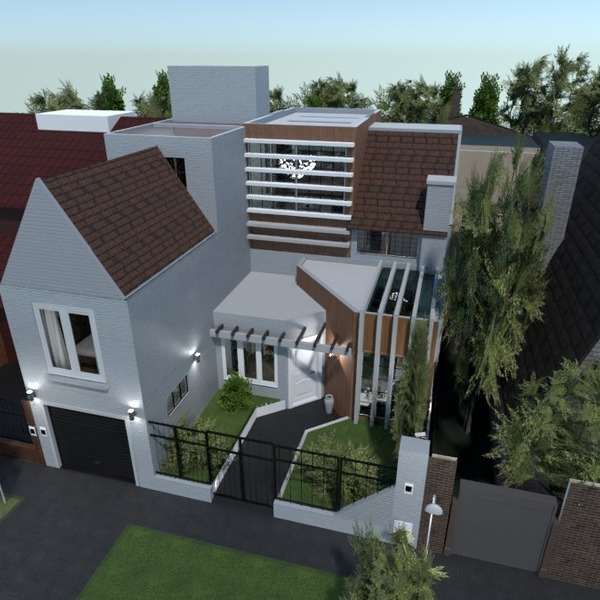 nuotraukos namas eksterjeras renovacija аrchitektūra idėjos