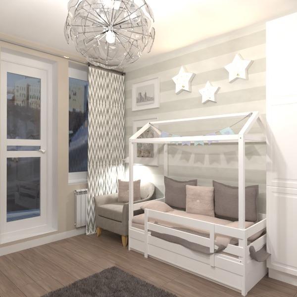 photos appartement meubles décoration chambre d'enfant eclairage idées