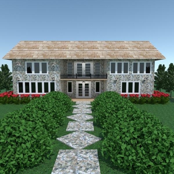 fotos casa terraza iluminación reforma paisaje arquitectura ideas