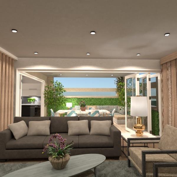 nuotraukos terasa baldai dekoras idėjos