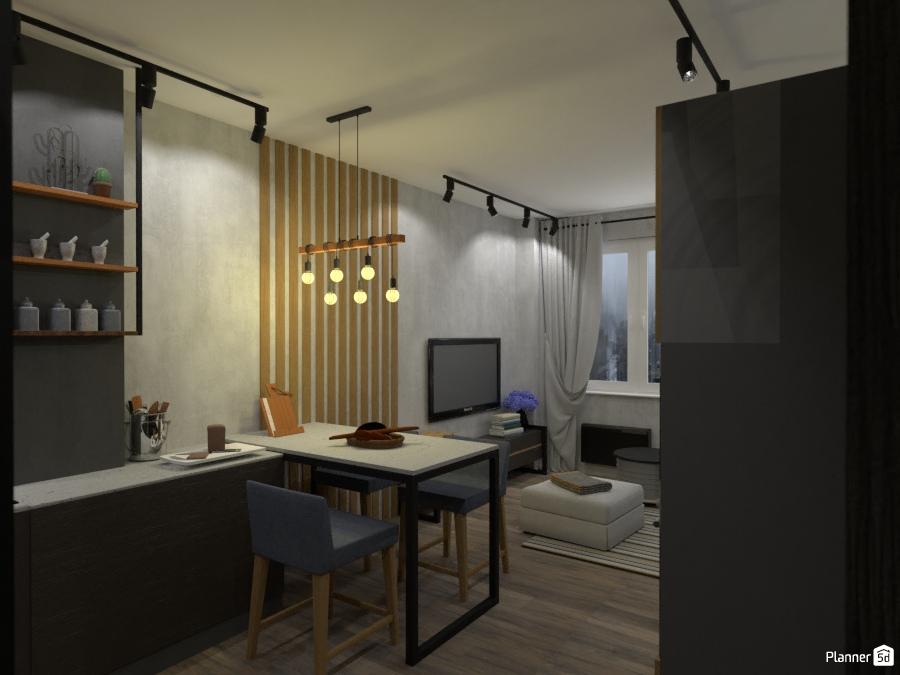 дизайн кухни в стиле лофт 2756082 by Татьяна Максимова image