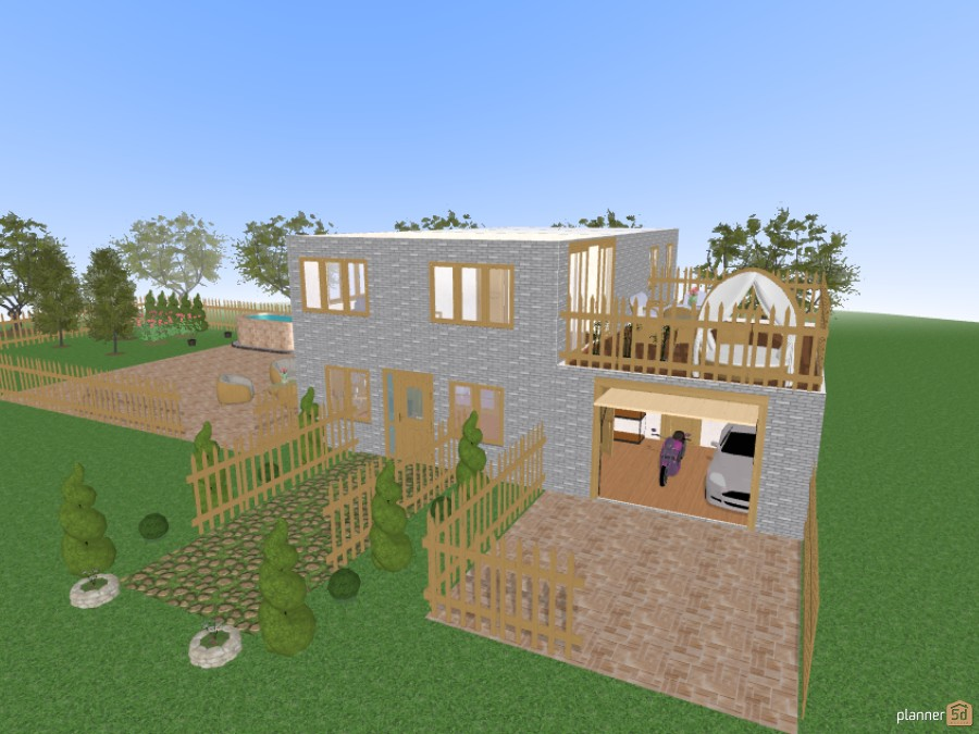 Functionial House 46972 by grace image