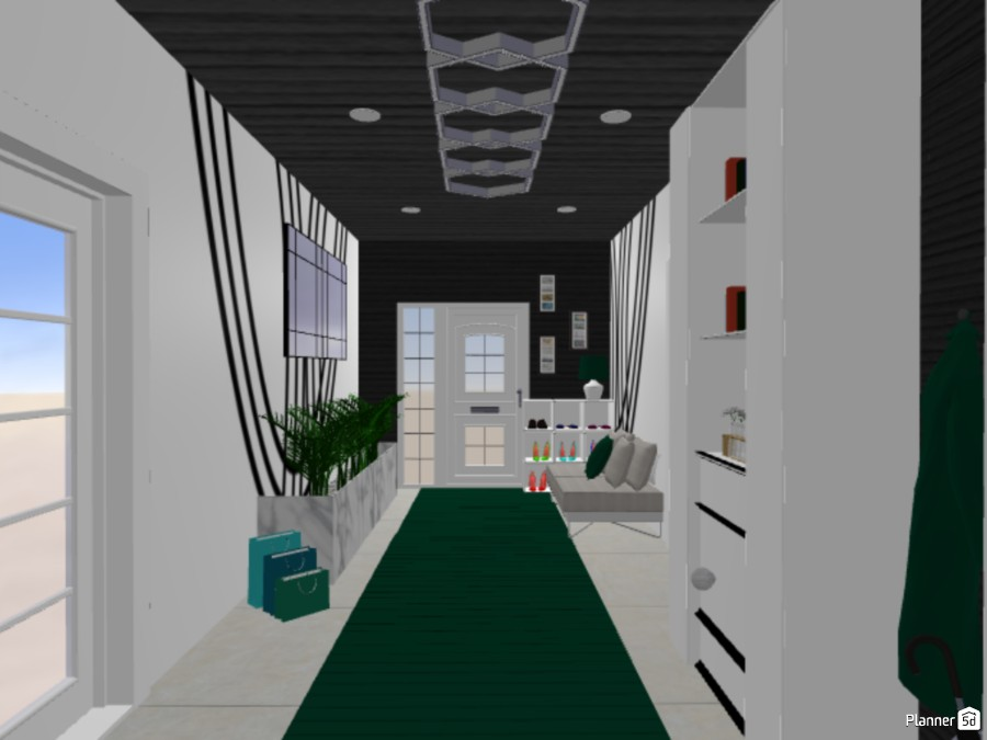 Luxury Hallway 87144 by The Genius Of Design image