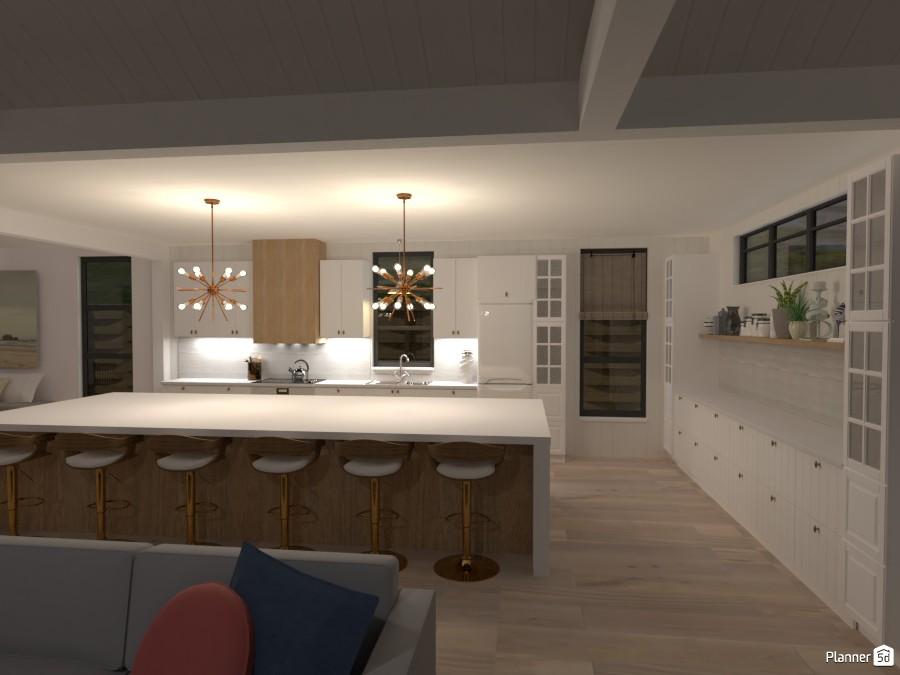 Scandinavian Beach House - Kitchen 4580484 by Isabel image