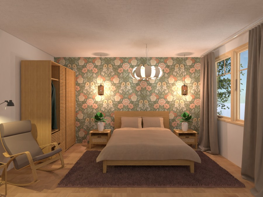 Bedroom nature inspo 4646327 by Sundis image