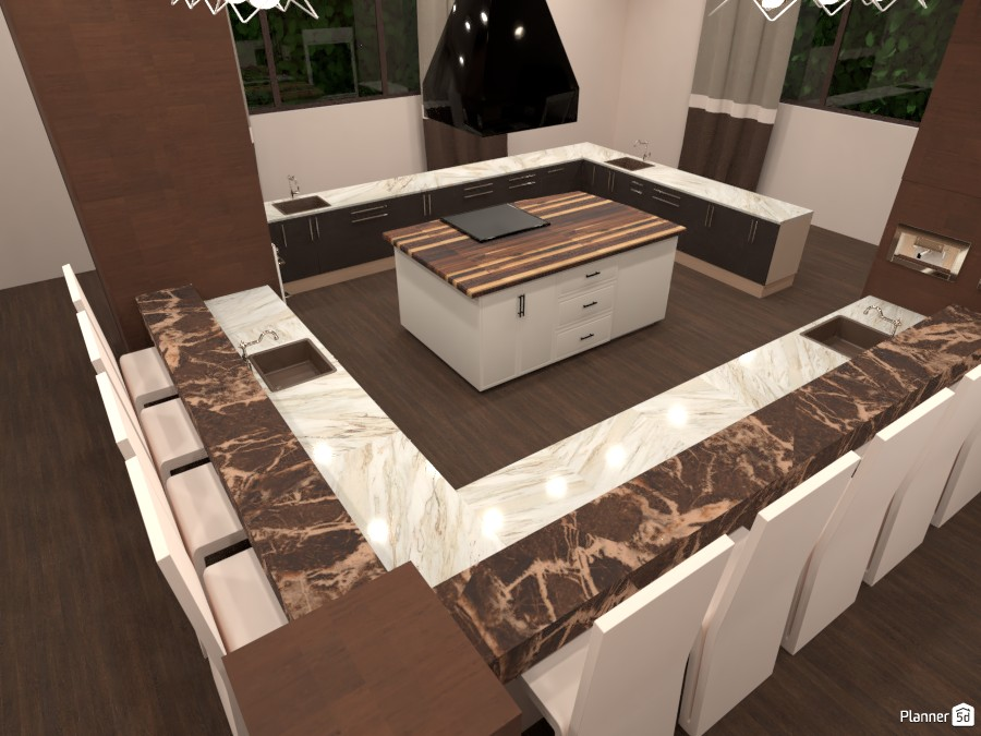 Brown Kitchen 3054424 by ESK image
