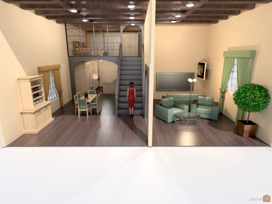 loft bedroom beamed ceiling 829146 by Joy Suiter image