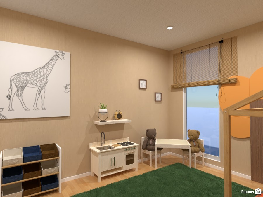 Kids room: ... here the love of nature begins ... 86319 by Gabes image