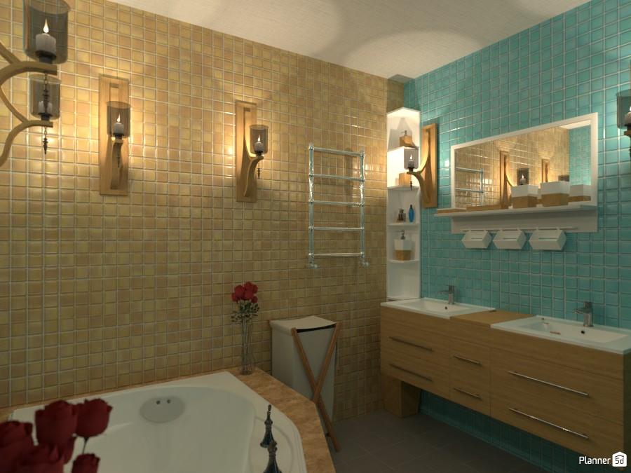 Romantic Bathroom 3369396 by Aysa image