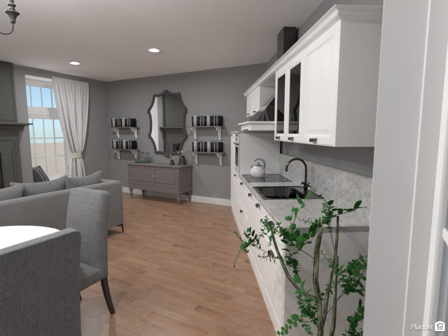 Classic kitchen and living room part 2 84516 by Burnsler image