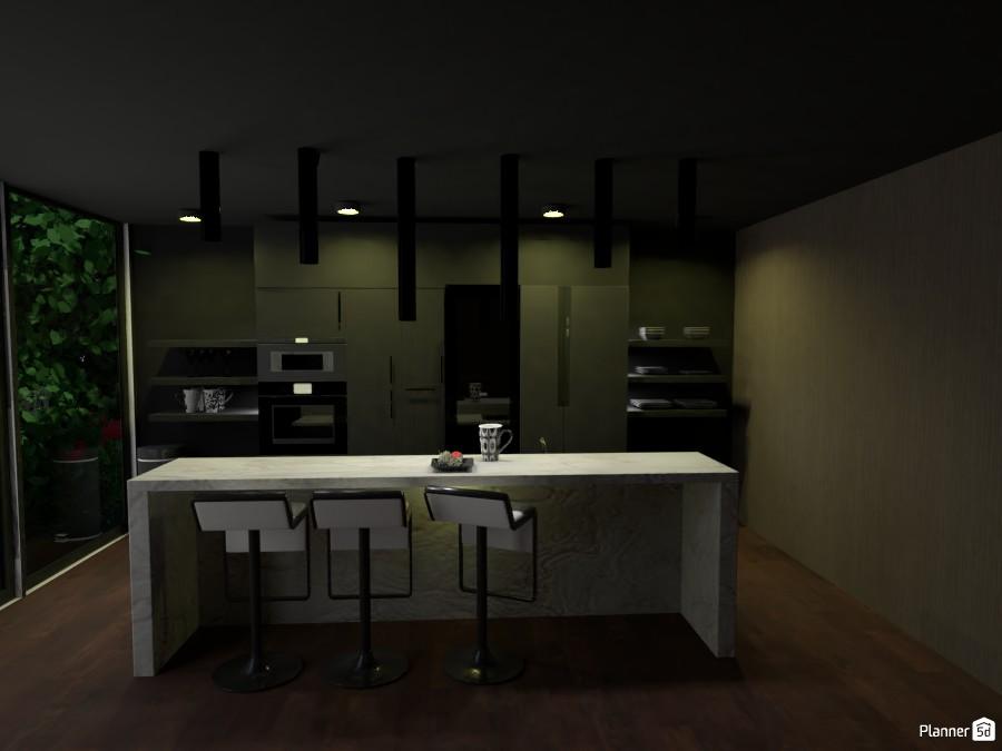 Dark Kitchen 3049743 by ESK image