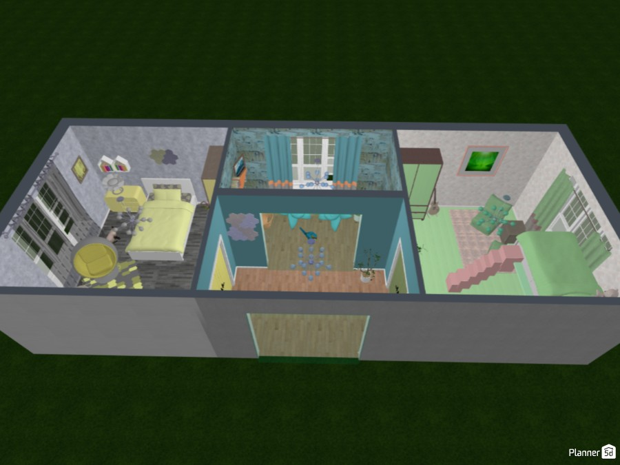 two bedrooms and a small room for two sisters 82809 by Doggies! image