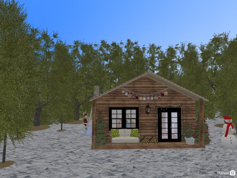 Tiny Christmas Lodge 83829 by Chiara Meazza image