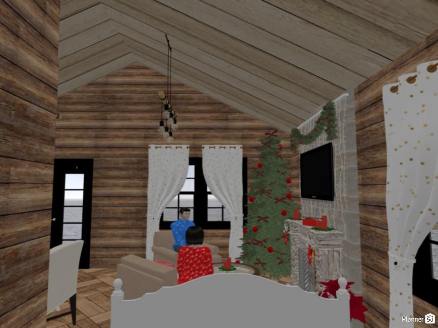 Tiny Christmas Lodge 83757 by Chiara Meazza image