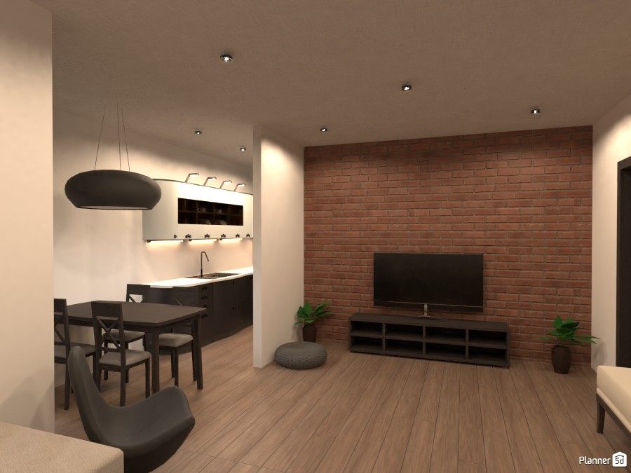Open Plan Living / Dining 3487222 by Sam image