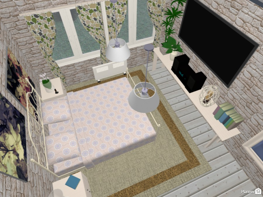 My Own Apartment - Another Variation 74809 by Milica G. image