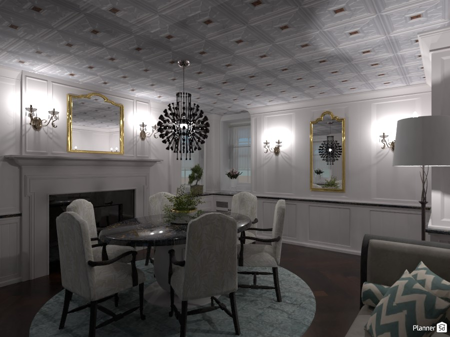 Sala neoclassica 2 3988487 by Moonface image