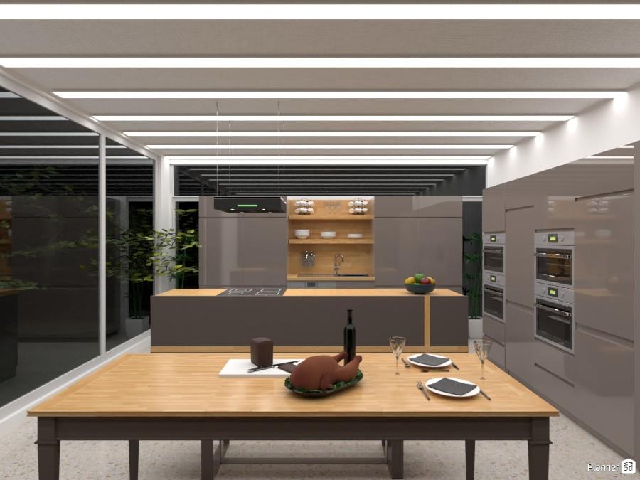 modern kitchen 4442321 by Yasemin Seray Ençetin image