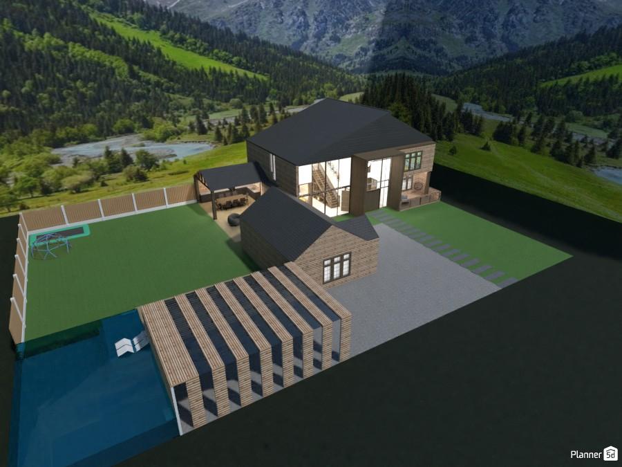 modern mountain house 86851 by Mia image