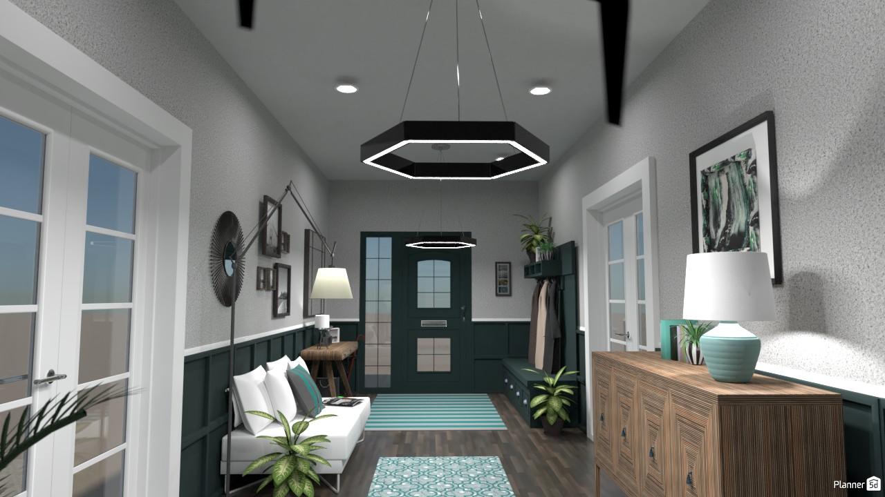 Long hallway 4392644 by Tina Smith image