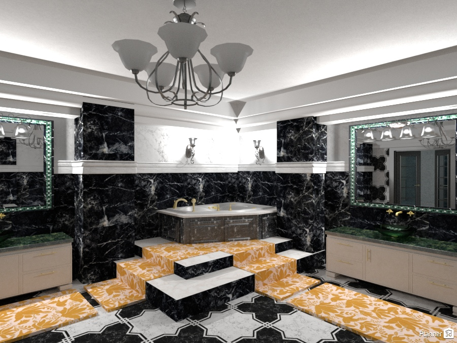 Éclectique Intérieur: La salle de bain 1320988 by Moonface image