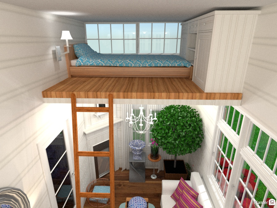 Tiny House Loft Bedroom Free Online Design 3d House Ideas Olivia11 By Planner 5d