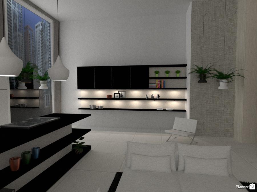 Modern Metropolitan Apartment 69719 by Micaela Maccaferri image