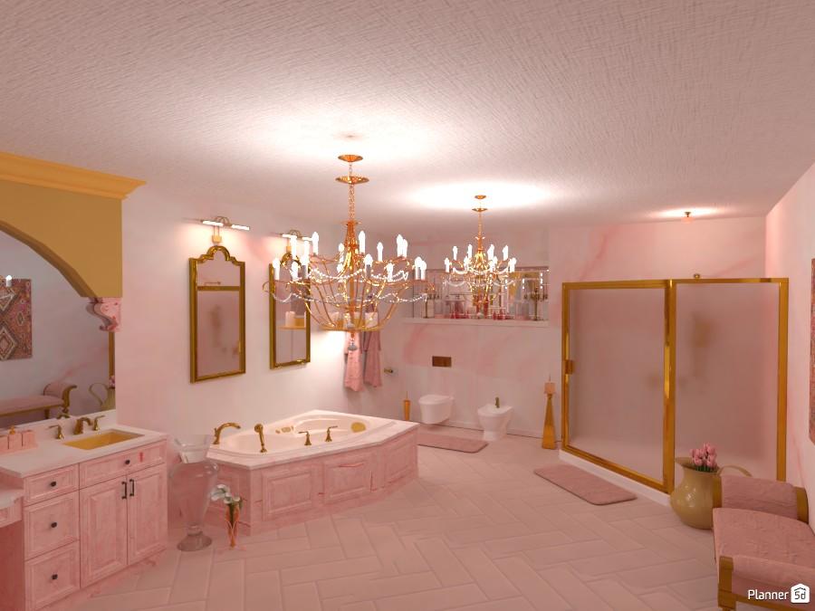 pink bathroom 4614876 by SELIN5DPLANNER image