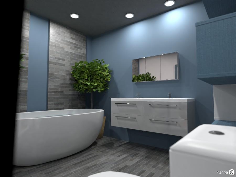 Teen boy bathroom.  Render 4 3666990 by Doggy image