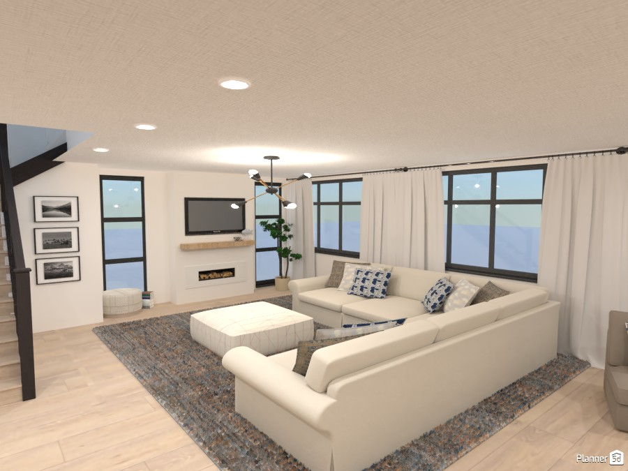 Beachy Living Room 4350979 by Isabel image