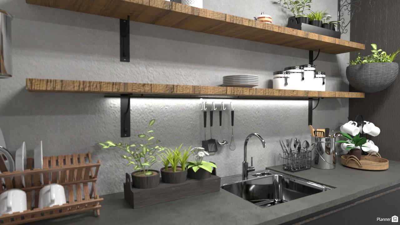 Kitchen 83285 by Evelinaa image