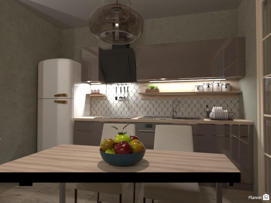 6x6 Mq: Kitchen 4356377 by Moonface image