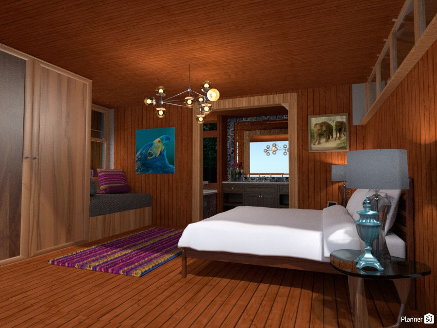 Tropical Bed and Breakfast Resort Bedroom 1866658 by Olivia11 image