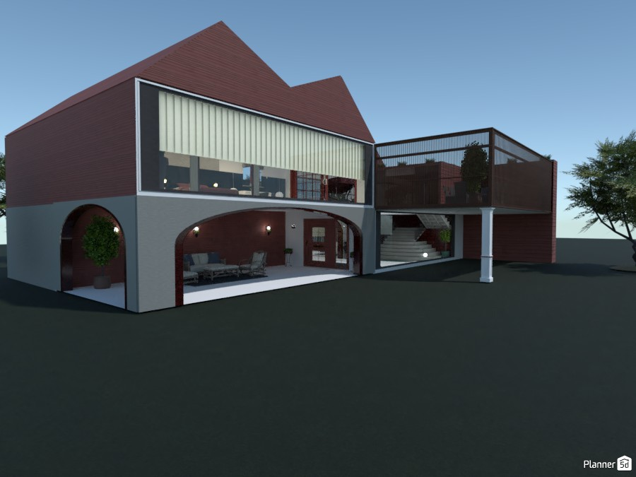 Red House design interior 83623 by kahem image