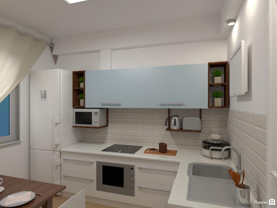 Дизайн кухни 70809 by Татьяна Максимова image