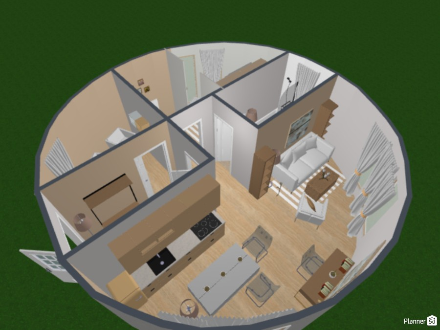 Round House (Design Battle Project) 83401 by Fireheart image