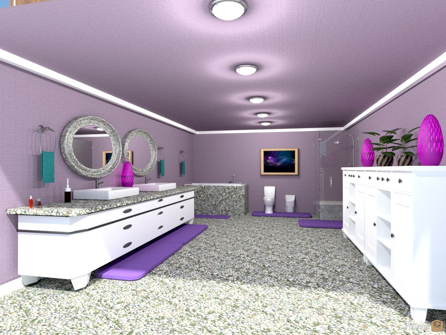 lavendar bathroom 57496 by Joy Suiter image