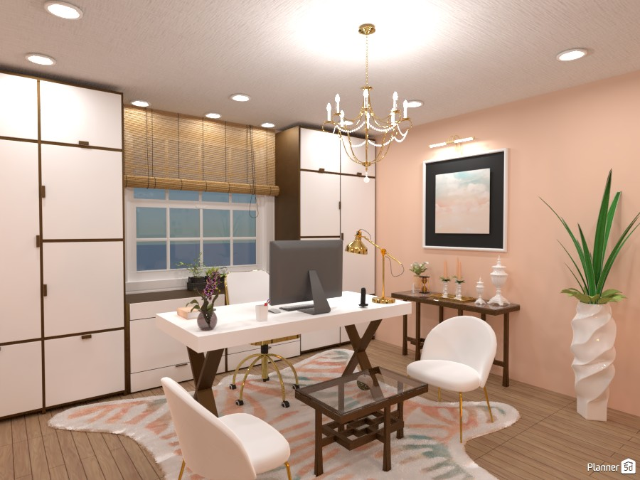 home office for her 4398730 by Yasemin Seray Ençetin image
