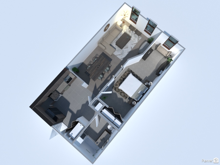 1 Bedroom Flat 2754069 by Tori image