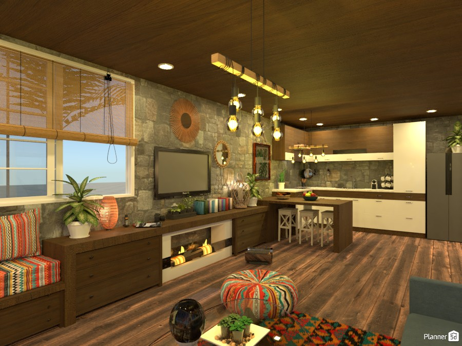 Beach house Living room 3503171 by M SECK image