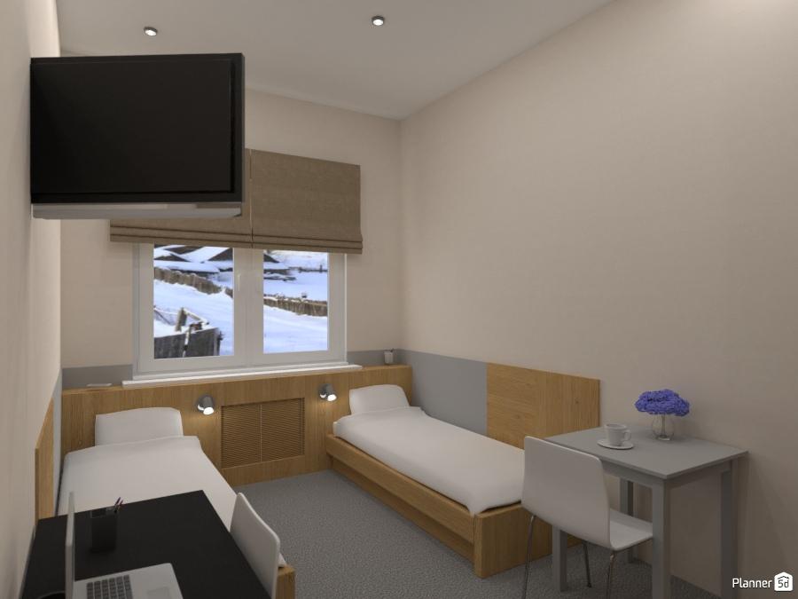 Design hotel room 74190 by Татьяна Максимова image
