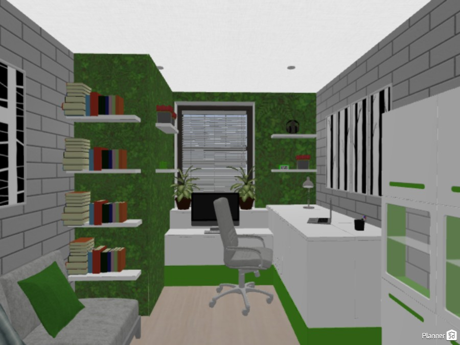 Eco home office 86484 by The Genius Of Design image