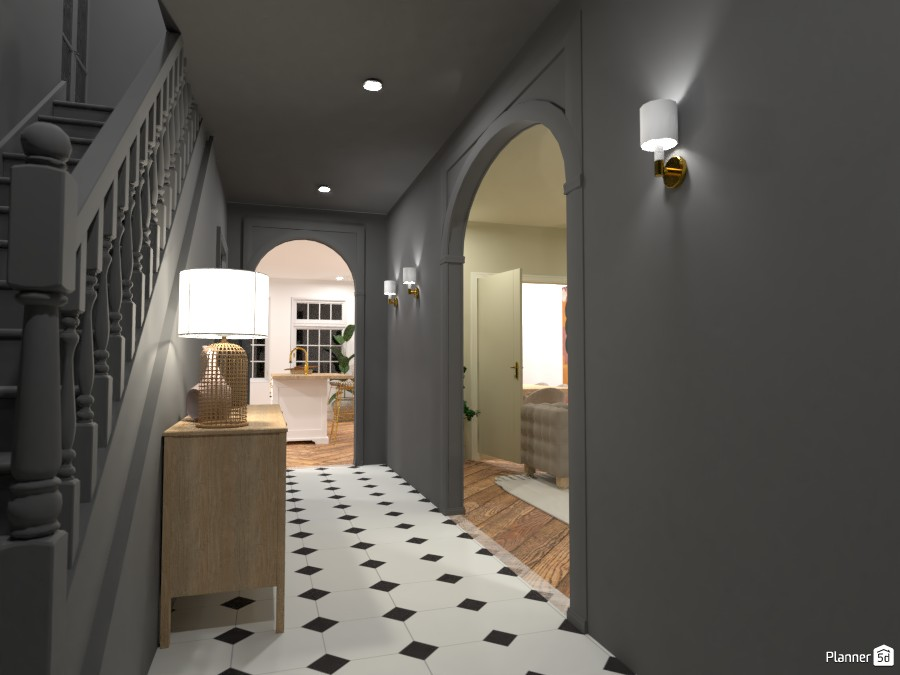 New York Townhouse - Foyer 4652065 by Ana G image