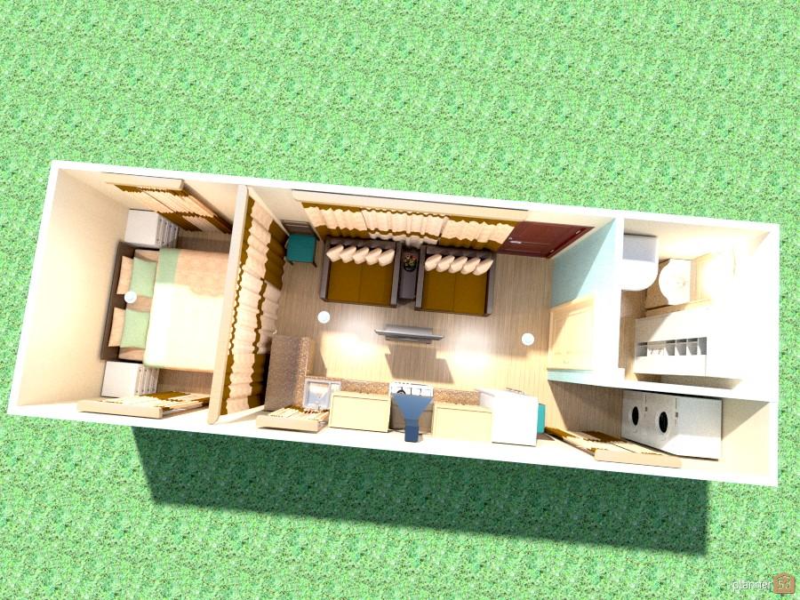 10' x 30' Train Car Home 788081 by Joy Suiter image