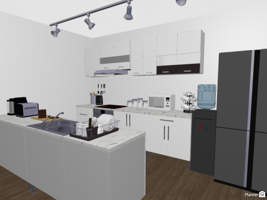Ggggggggg Free Online Design 3d Kitchen Floor Plans By Planner 5d