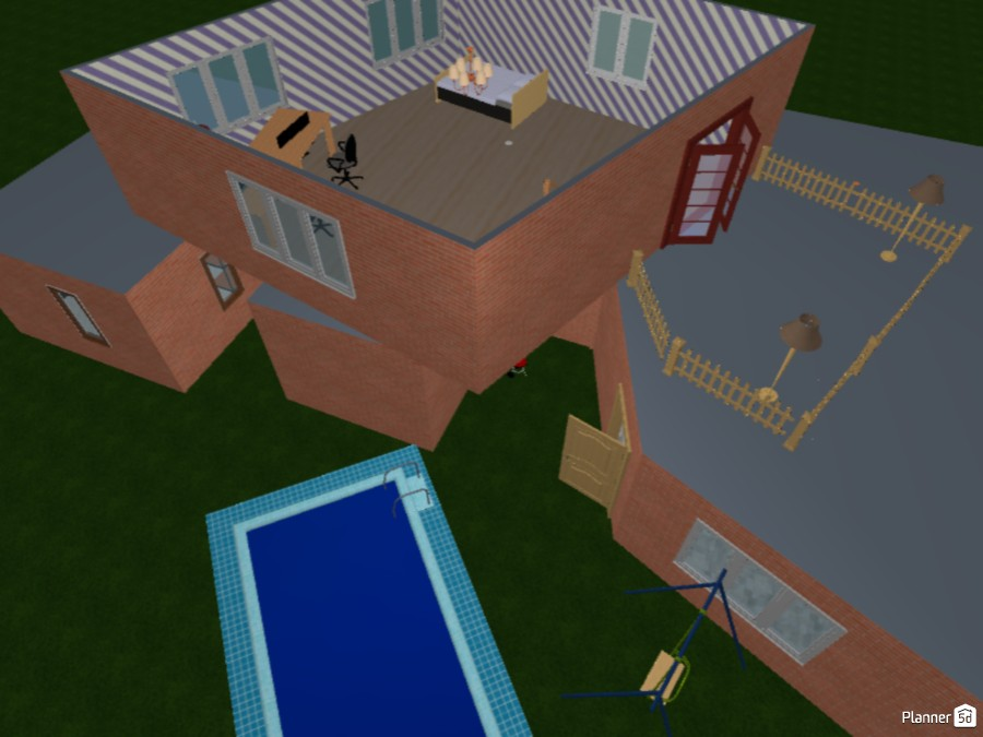 Cool 2 story house 83503 by fT_701 image