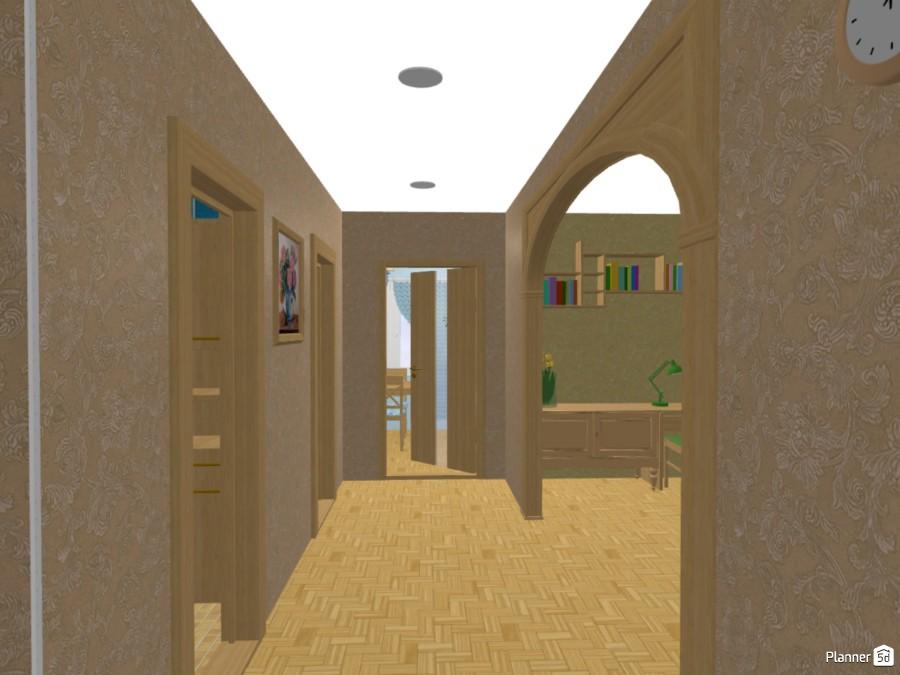 Двухкомнатная квартира-малосемейка 75470 by Мария Кирпа image