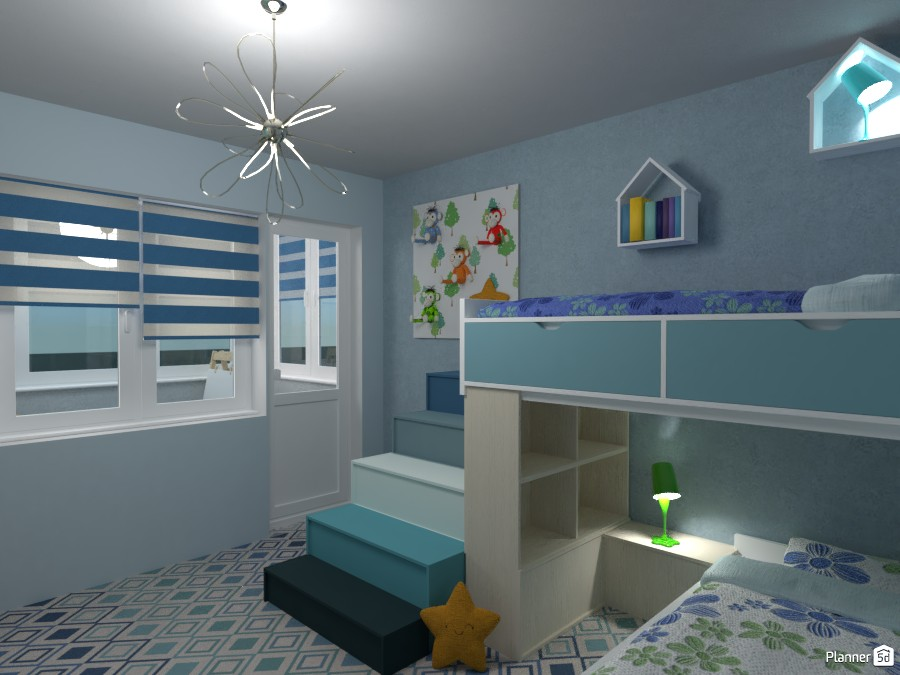 #1 Bedroom with a balcony: new contest 3385994 by Micaela Maccaferri image