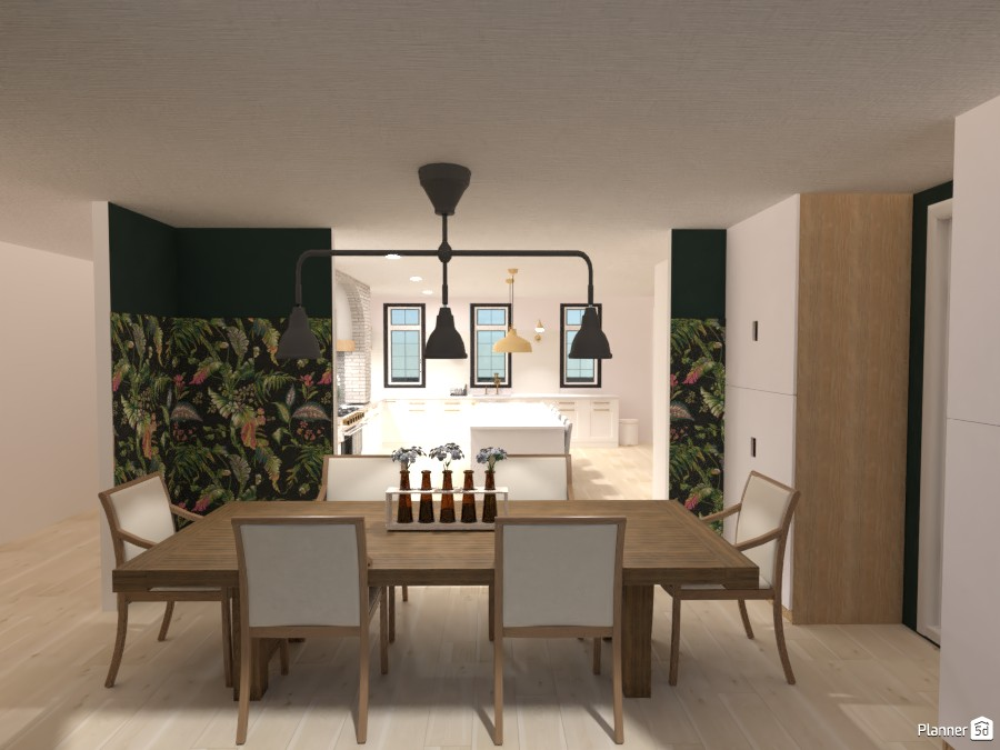 Ella's Farmhouse: Dining Room 4484140 by Isabel image