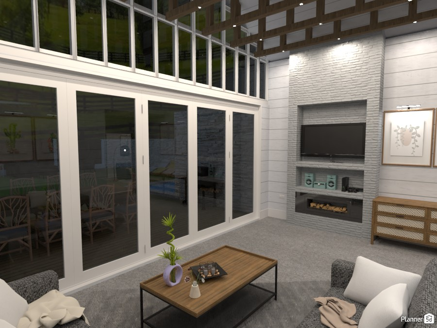farmhouse style family room 4525347 by Mia image